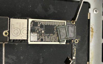 Демонтаж микросхемы Wi-Fi iPhone 7 в bgacenter