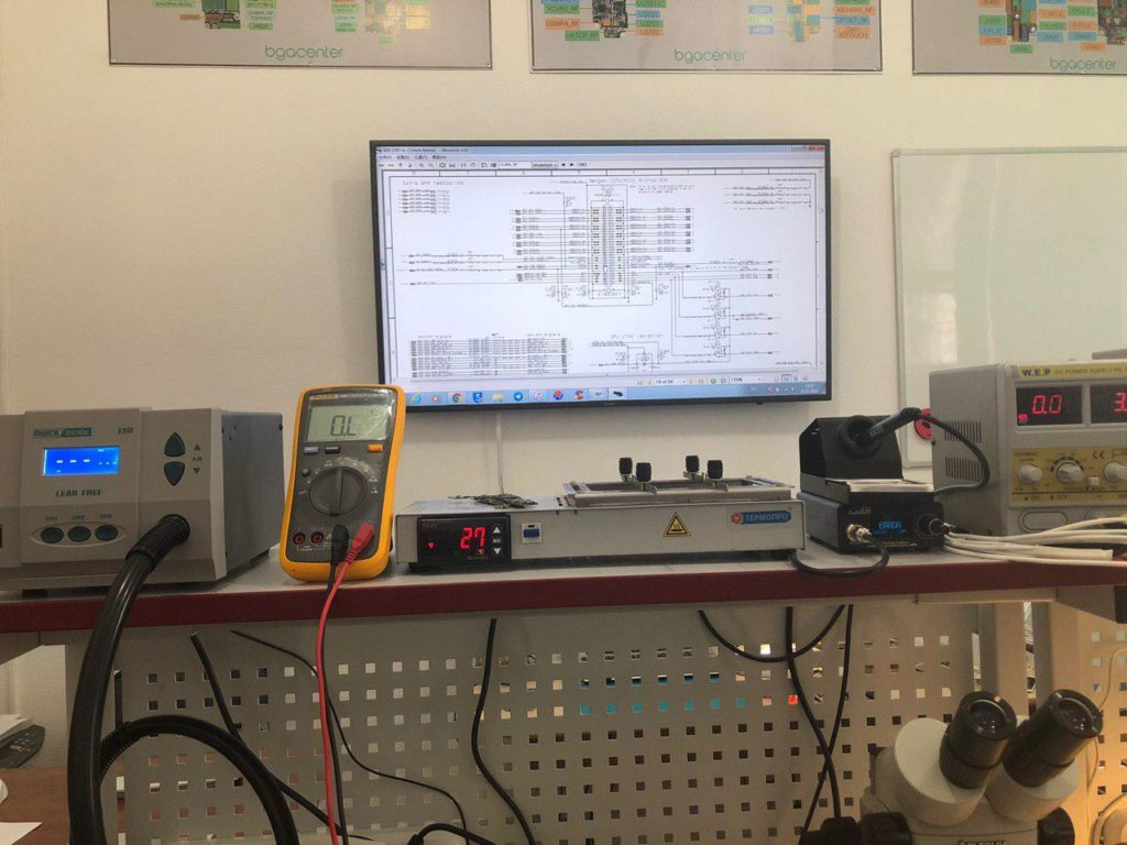 Обучение ремонту ноутбуков в bgacenter