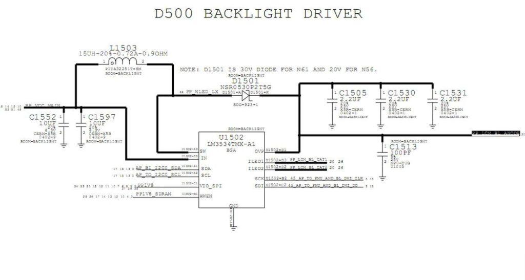 D500 Backlight Driver