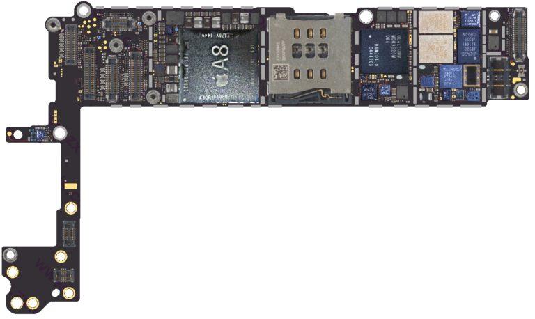 Падение напряжения iPhone 6