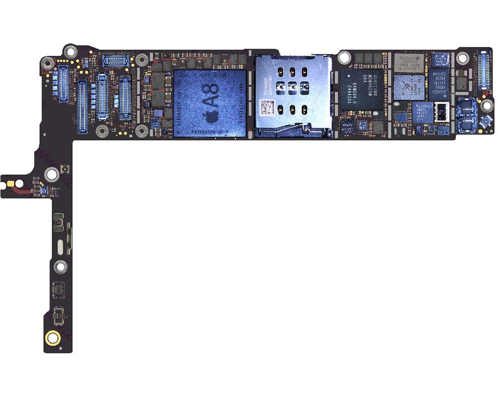 Падение напряжения iPhone 6 Plus