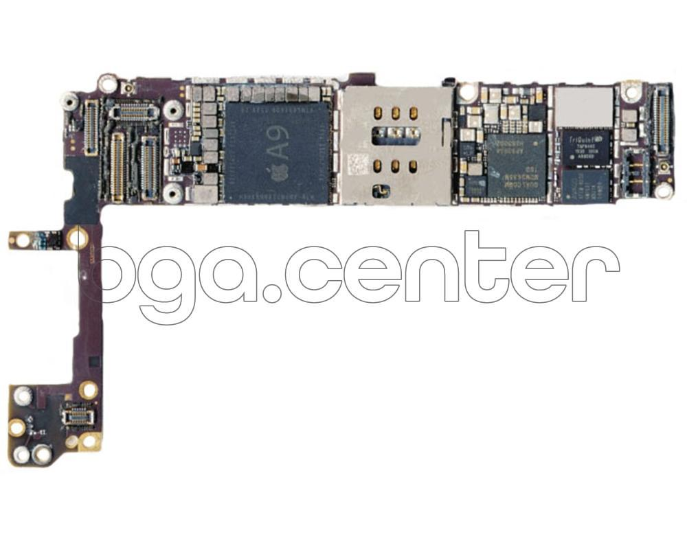 Падение напряжения iPhone 6S
