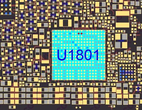 Основной контроллер питания IPhone 7