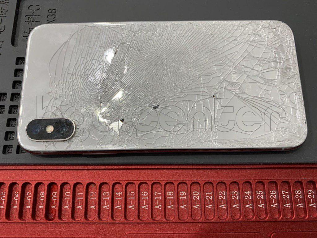 iPhone 10 после падения