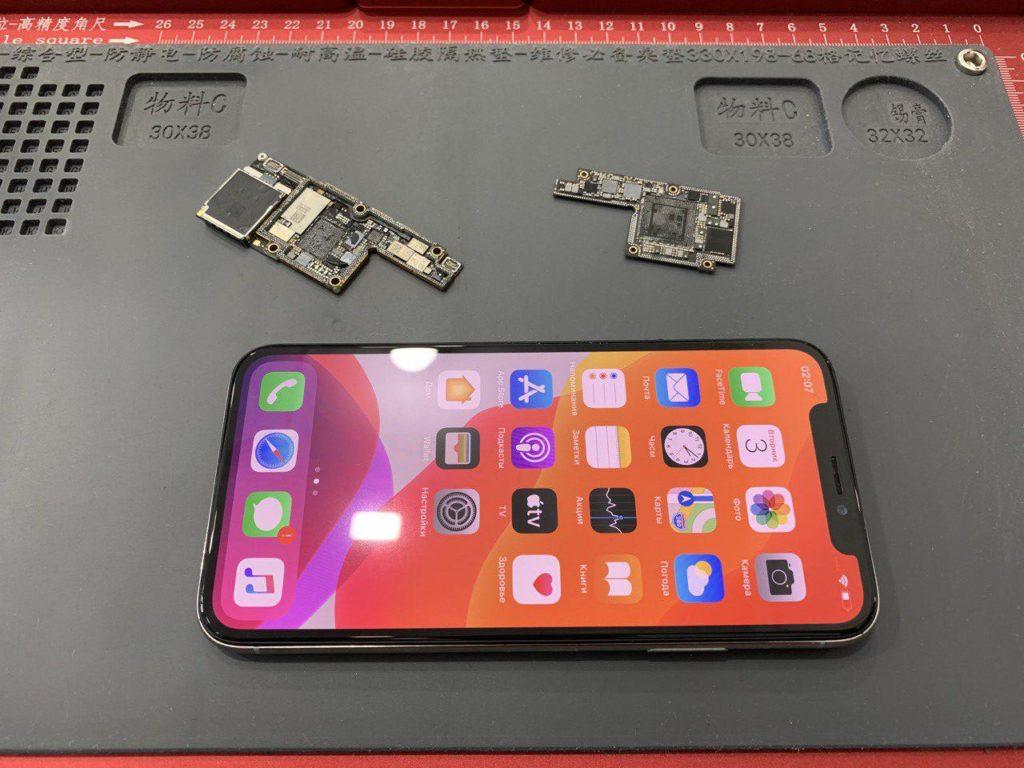 Отремонтированный айфон 10