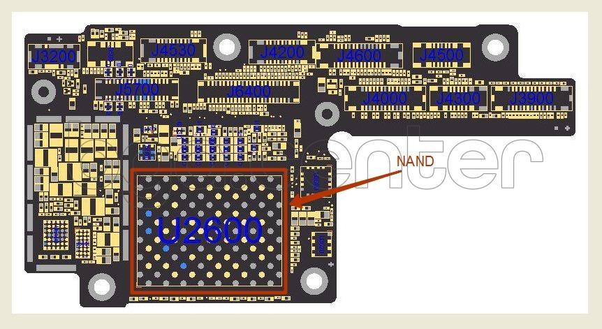 NAND iPhone X
