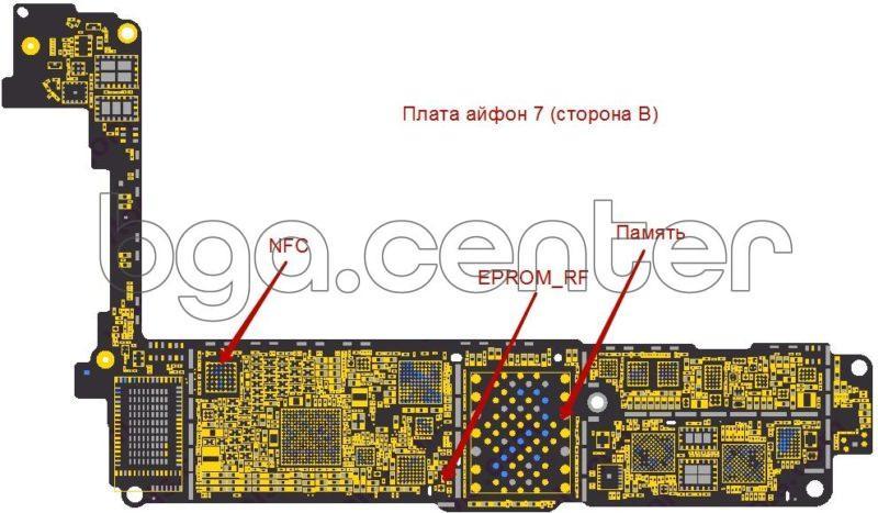 Board iPhone 7 side B