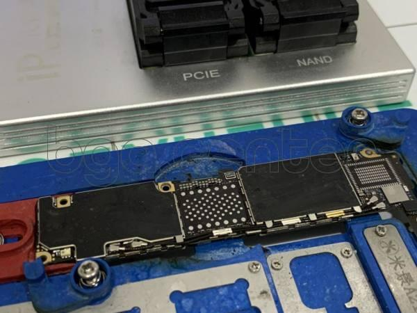 Contact pad of the U1500 chip