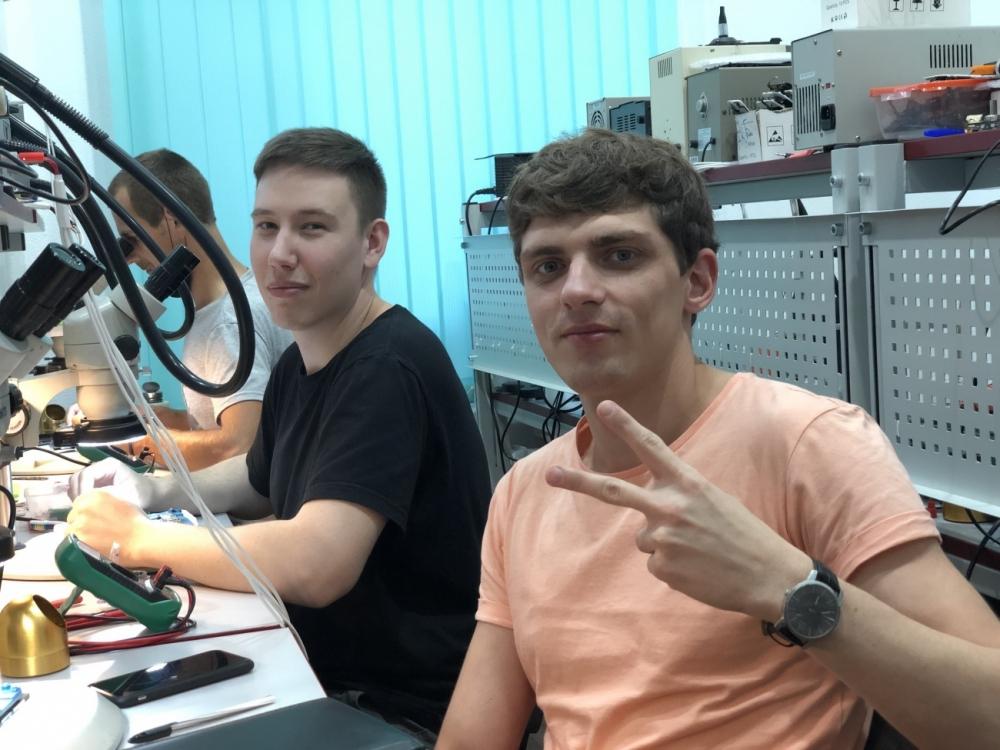 Где научиться пайке в Санкт-Петербурге
