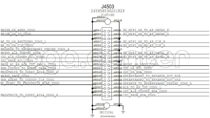 J4503 FOREHEAD FLEX CONNECTOR