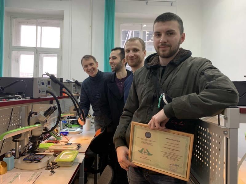 Обучение ремонту телефонов в Bgacenter февраль 2020г