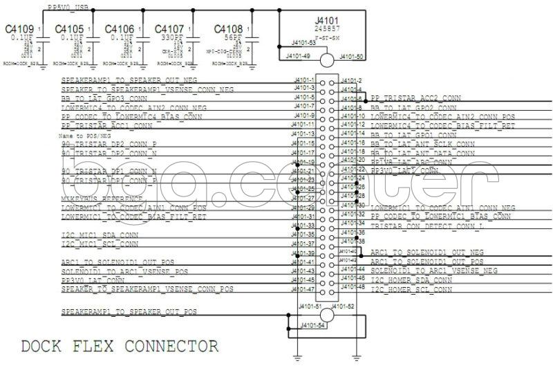 J4101 DOCK FLEX CONNECTOR