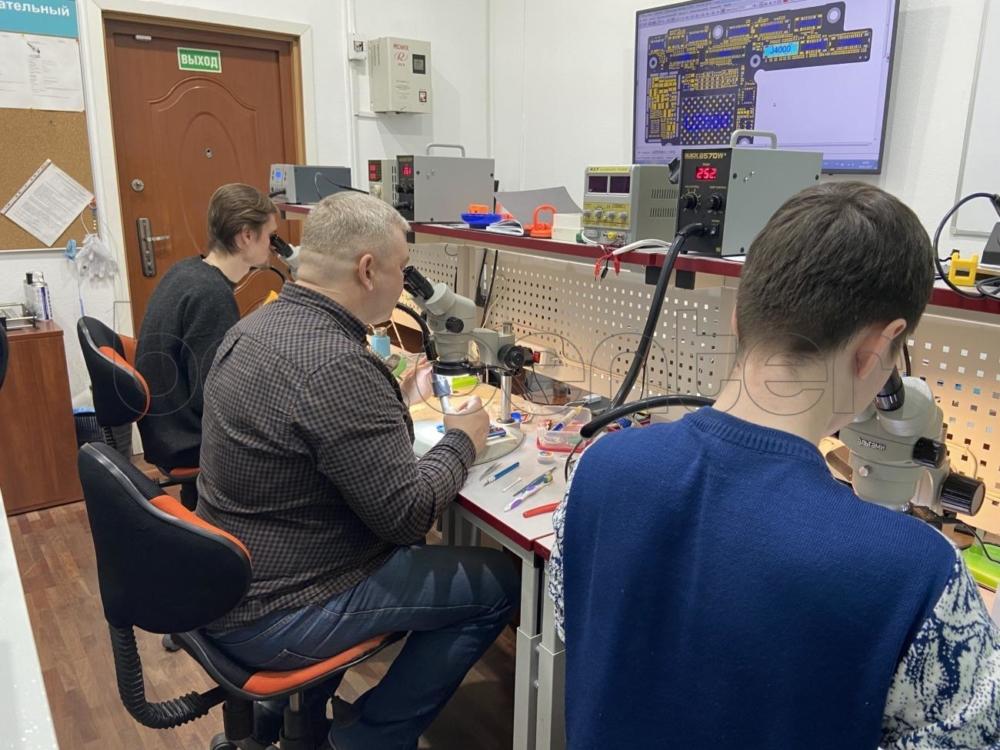 Обучение ремонту ноутбуков
