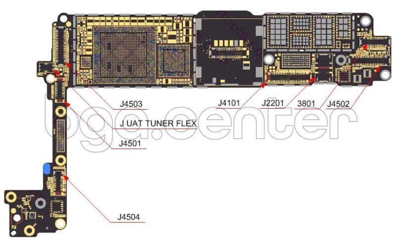 Разъемы iphone 7 материалы Bgacenter